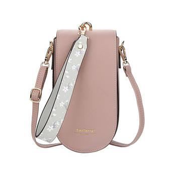 Жіноча сумочка-гаманець Lesko N8613 Smoke Purple