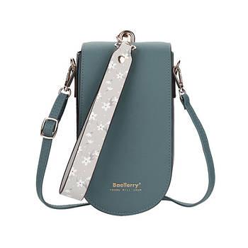 Жіноча сумочка-гаманець Lesko N8613 Blue