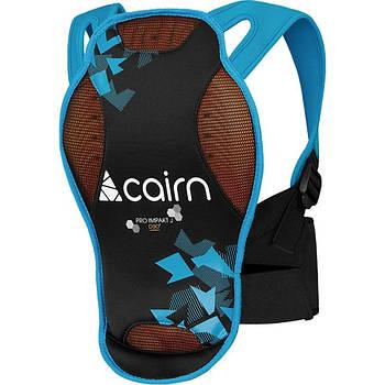 Защита спины детская Cairn Pro Impakt D3O Jr 8 Черный-Голубой