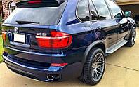 Накладки розширювачі арок BMW X5 E70 2006-2013 р. в. ABS пластик