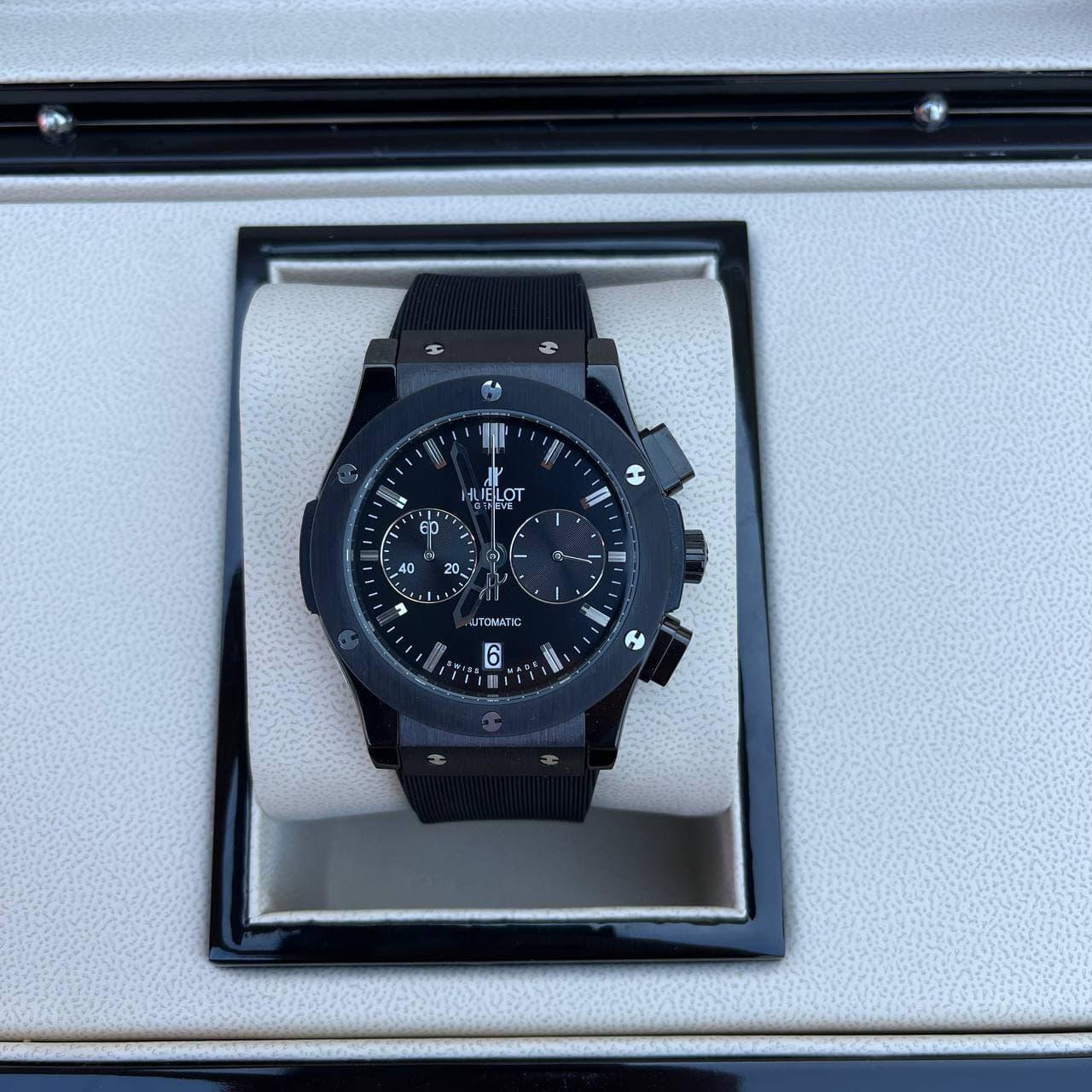 Часы наручные H u b l o t  5828 Classic Fusion All Black премиального ААА класса