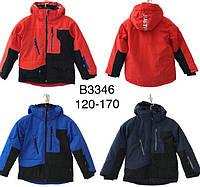 Зимова підліткова термокуртка для хлопчиків ОПТОМ JUSTPLAY