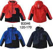Зимняя подростковая термокуртка для мальчиков JUSTPLAY ОПТОМ