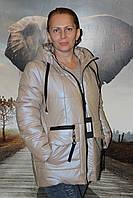 Куртка весенняя орехового цвета
