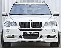 Передній бампер для BMW X5 E70 2007-2013 р. в. в стилі Hamann Flash