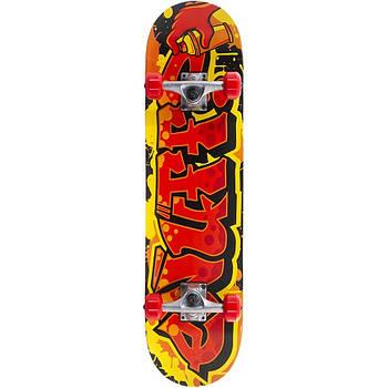 Cкейтборд Enuff Graffiti II Красный-Желтый