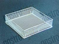 Кассета для мытья посуды Д 400мм Ш 400мм В 130мм тип сетки мелкие отверстия (арт. 971023)