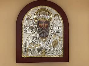 Икона в большой рамке Святой Николай