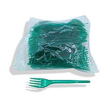 Качани щільні пластикові 100 шт Зелені Юніта