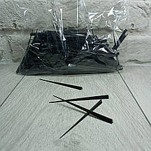 Шпажка для канапе Кристал 500шт чорна