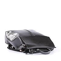 Стильный женский рюкзак из натуральной кожи Черный Tiding Bag - 25437, фото 5