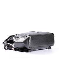 Стильный женский рюкзак из натуральной кожи Черный Tiding Bag - 25437, фото 6
