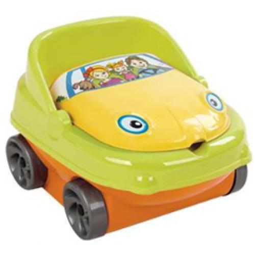 """Детский музыкальный горшок Irak Plastik """"Baby car"""""""