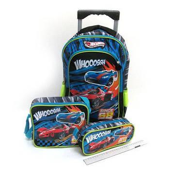 """Набор чемодан-рюкзак, термосумк, пенал,  детский """"Racing"""""""