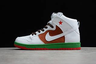 Кросівки чоловічі Nike Dunk High / DNK-122 (Репліка)