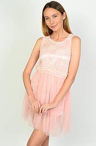 Сукня жіноча персикова розмір 42 ACG 136996P