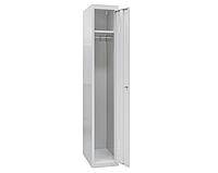 ШО-300/1 шкаф одежный металлический гардеробный, 1800х300х500 мм, 1 секция, фото 1