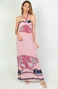 Сарафан жіночий рожевий AAA 136961P