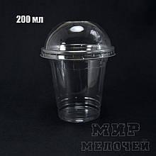 Стакан без крышки РЕТ 200 мл плотный уп/50штук