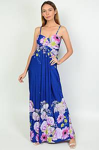 Сарафан жіночий синій AAA 136865P
