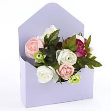 Складные цветочные коробки и упаковка для цветов.