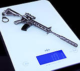 Брелок з гри PUBG M416 Assault Rifle Weapon Keychain, фото 5