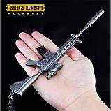 Брелок з гри PUBG M416 Assault Rifle Weapon Keychain, фото 7