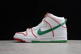 Кроссовки мужские Nike Dunk High / DNK-124 (Реплика)