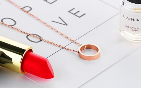 """Підвіска з рожевого золота """"Love Ring"""""""