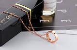 """Підвіска з рожевого золота """"Love Ring"""", фото 4"""