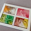 Натуральное Карпатское мыло ручной работы набор Лесная ягода, Овсяный скраб, Медовое с прополисом, Еловое, фото 5