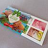 Натуральное Карпатское мыло ручной работы набор Лесная ягода, Овсяный скраб, Медовое с прополисом, Еловое, фото 3