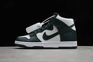 Кроссовки мужские Nike Dunk High / DNK-125 (Реплика)