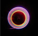 Многоцветные, светящиеся колпачки на ниппель, фото 4