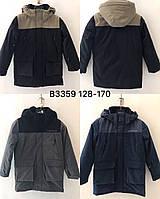 Зимние подростковые куртки для мальчиков  оптом
