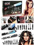 Набір для укладання волосся, стайлер Gemei Gm-4833 10в1, фото 2