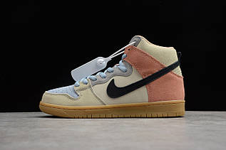 Кроссовки мужские Nike Dunk High / DNK-127 (Реплика)