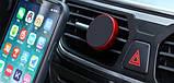 Магнітний тримач для телефону в машину Mount Holder в повітропровід автомобіля, фото 2