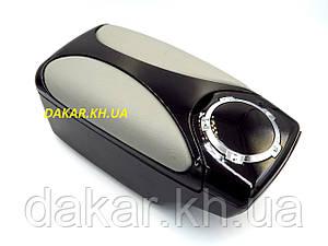 Підлокітник автомобільний універсальний Black Grey