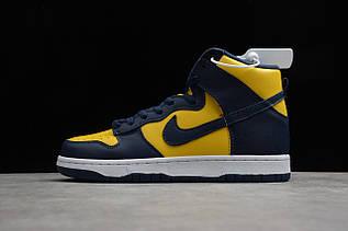 Кроссовки мужские Nike Dunk High / DNK-131 (Реплика)