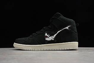 Кросівки чоловічі Nike Dunk High / DNK-132 (Репліка)