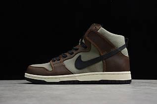 Кроссовки мужские Nike Dunk High / DNK-133 (Реплика)