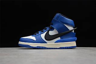 Кроссовки мужские Nike Dunk High / DNK-137 (Реплика)