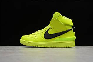 Кроссовки мужские Nike Dunk High / DNK-138 (Реплика)