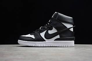 Кросівки чоловічі Nike Dunk High / DNK-140 (Репліка)