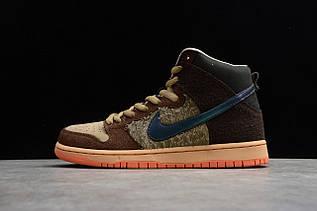 Кроссовки мужские Nike Dunk High / DNK-141 (Реплика)