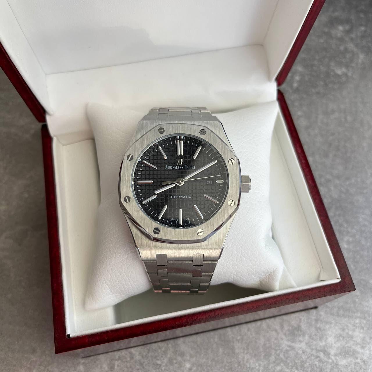 Часы наручные Audemars Piguet Royal Oak 0788 Silver-Black
