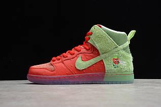 Кросівки чоловічі Nike Dunk High / DNK-144 (Репліка)