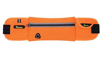 Спортивна Сумка на пояс для бігу HGQI00310 Tanluhu Orange (tau_krp225_00310sa)