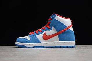 Кроссовки мужские Nike Dunk High / DNK-145 (Реплика)